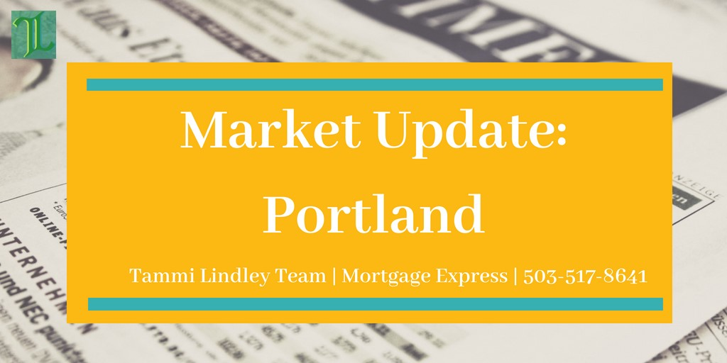 Market Update – Portland, Oregon – September 2018