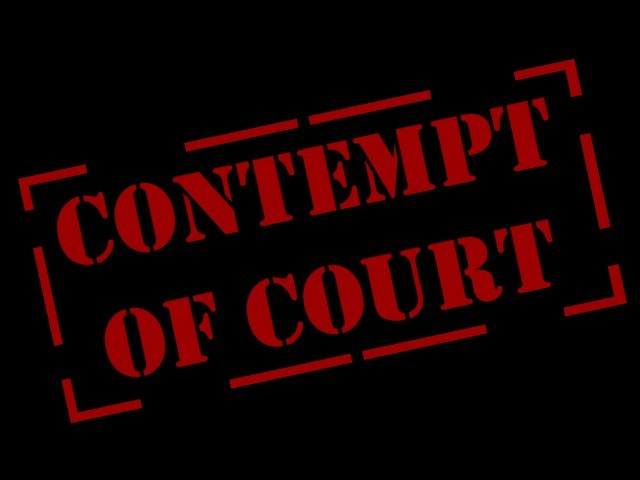 Avoiding a Contempt of Court Issue with Divorce and Real Estate